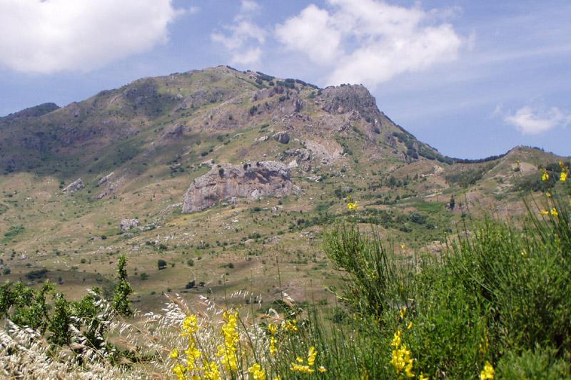 Parc naturel Madonies en Sicile