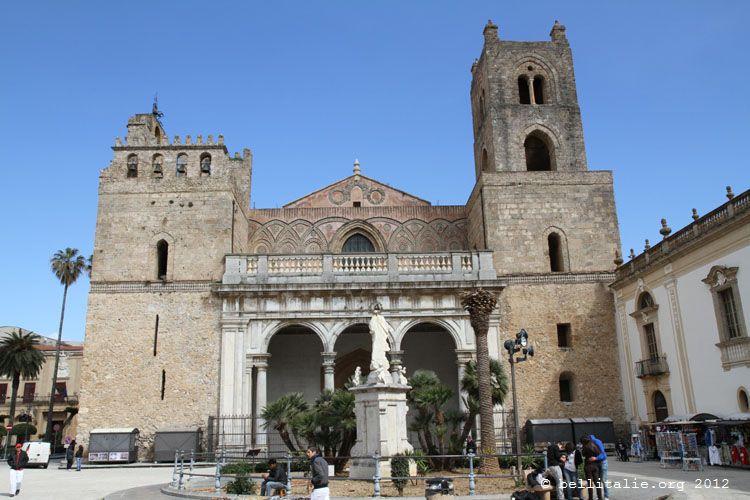 cathédrale de Monreale en Sicile