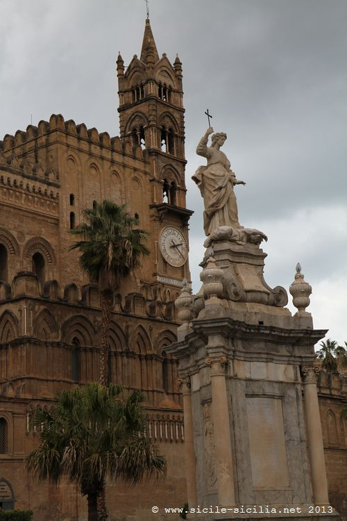 4a23fcbd62b48 La cathédrale de Palerme