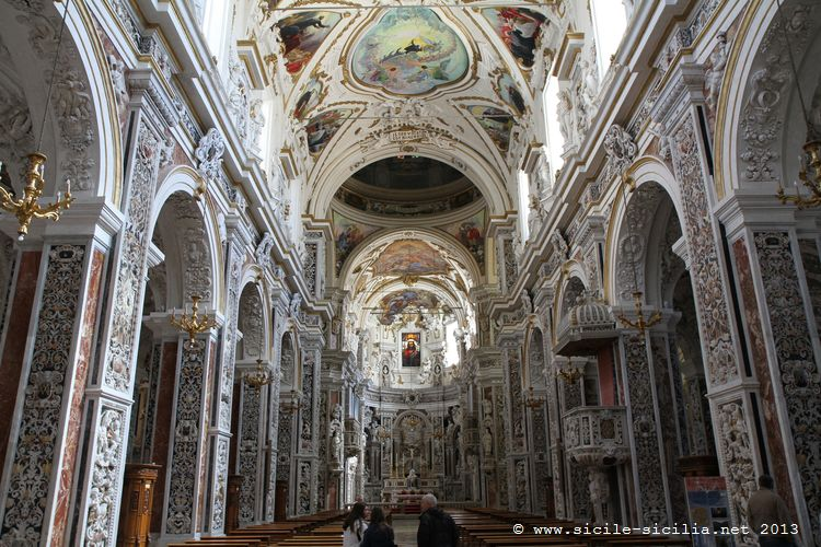 Eglise du gesù, Palerme