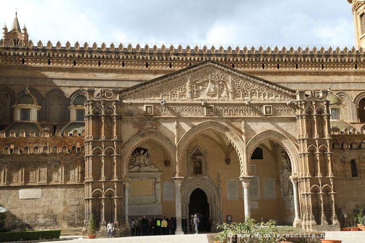 Cattedrale di palermo for Avvolgere le planimetrie del portico