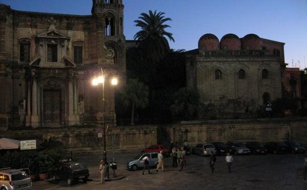 Piazza Bellini à Palerme