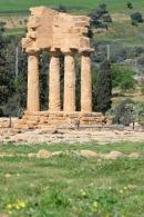 Agrigente, temple des Dioscures