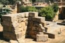 agrigento, tempio di zeus olimpeion