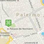 Carte interactive de Palerme