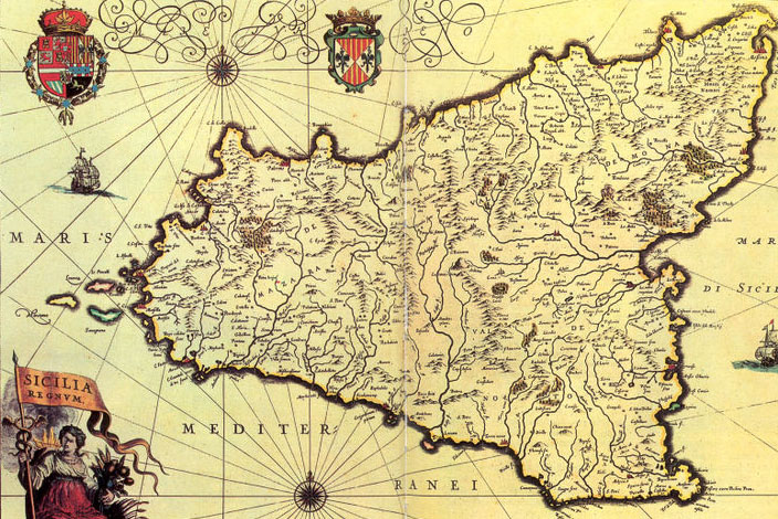 Mappa del sito di Selinunte