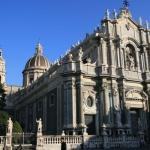 Piazza Duomo et cattedrale di Catania