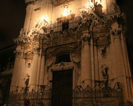 Catania, san benedetto, via crociferi