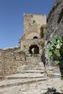 Château de Sperlinga en Sicile
