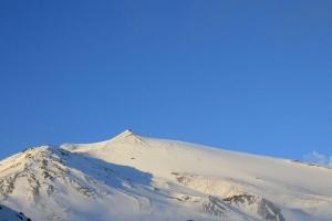 L'Etna in inverno