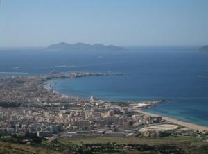 Vue sur Trapani - Panorama