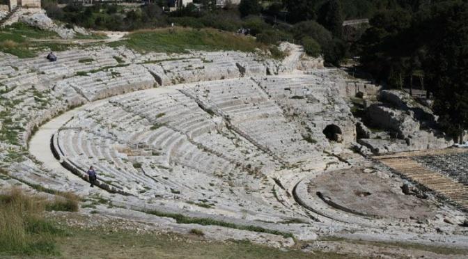 Neapolis à Syracuse, théâtre grec