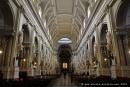 Nef centrale de la cathédrale de Palerme