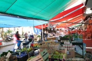 Marché et quartier de Ballarò à Palerme