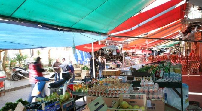 Quartier et marché Ballaro à Palerme