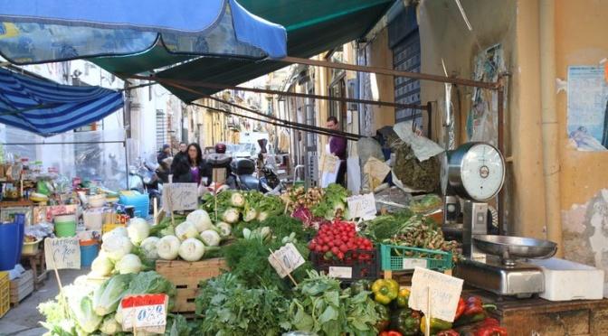 Quartier Ballaro à Palerme
