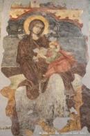 Palermo, santa maria della catena, affreschi