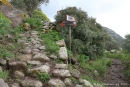 Chemin ver le sauna naturel, Pantelleria