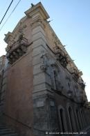 Raguse, Palais Cosentino, balcons baroques