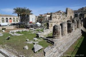 Temple d'Apollon à Syracuse