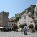 Taormine, piazza 9 aprile