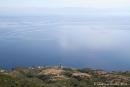 Vulcano, vue sur la cote sicilienne