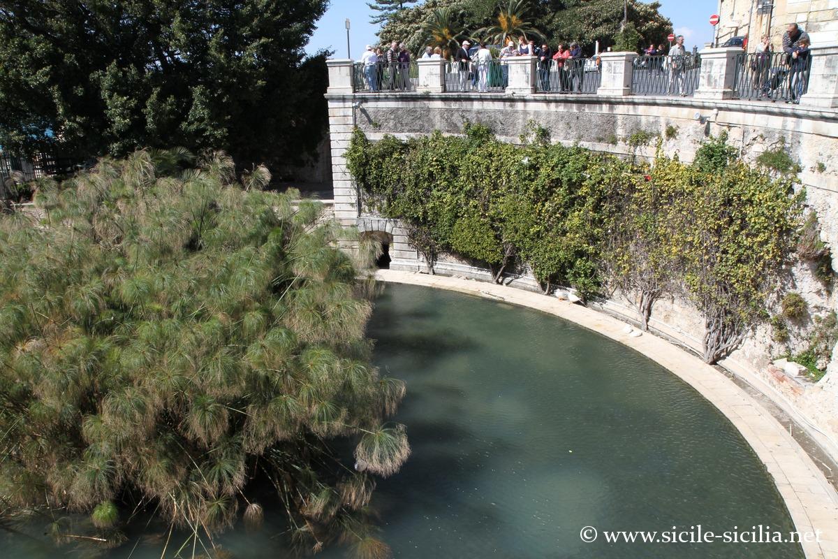 Fontaine d'Aréthuse